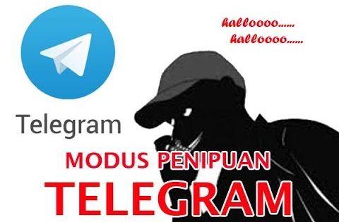 penipuan telegram