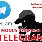 Waspada!!! Penipuan via SMS/Telepon Meminta Kode Login Telegram